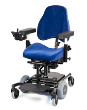 Electric wheelchair 6100 PLUS with footrest