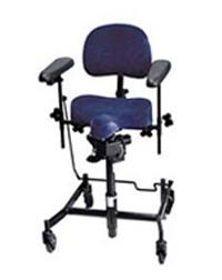 Arbetsstol REAL 9500 ståstödsstol med H-stativ