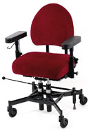 Working chair REAL 9200 Twin manual